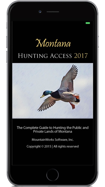 Montana Hunting Access 2017 screenshot-0
