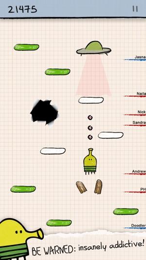Doodle Jump - Wahnsinnig Gut! Screenshot