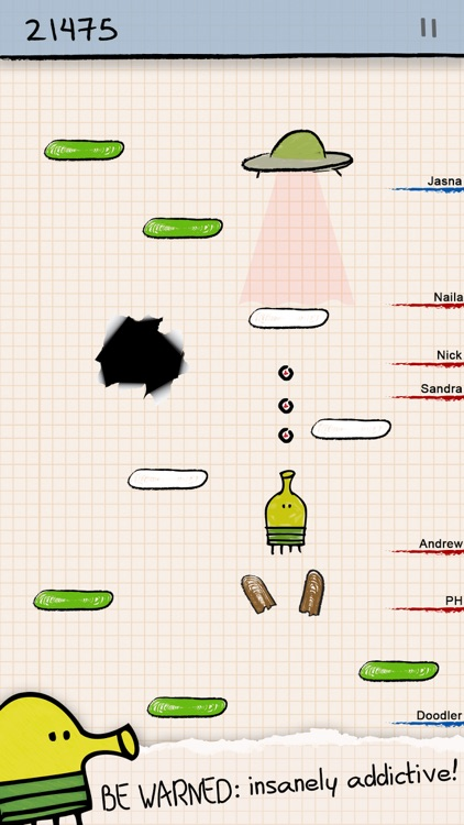 Doodle Jump - Insanely Good! screenshot-0