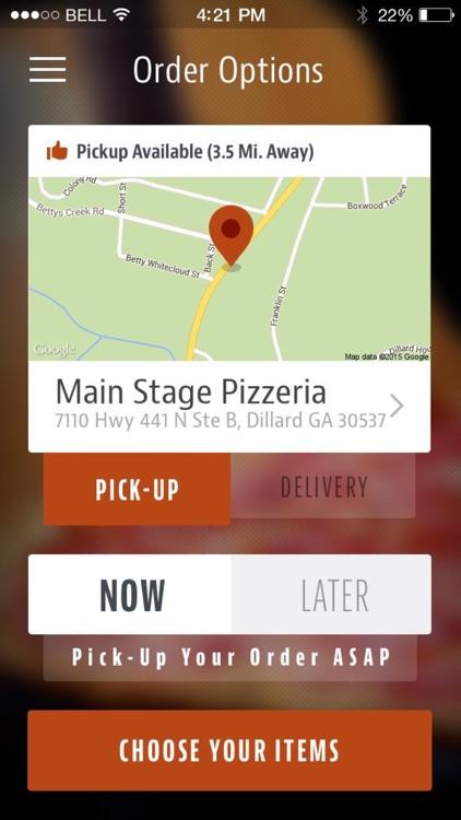 Main Stage Pizzeria