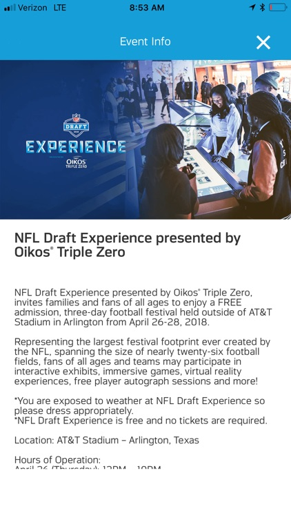 NFL Draft - Fan Mobile Pass screenshot-3