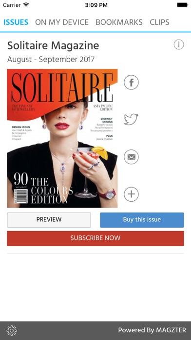 Solitaire Magazine screenshot 1