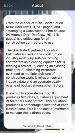 dual rate overhead calculator on the app store