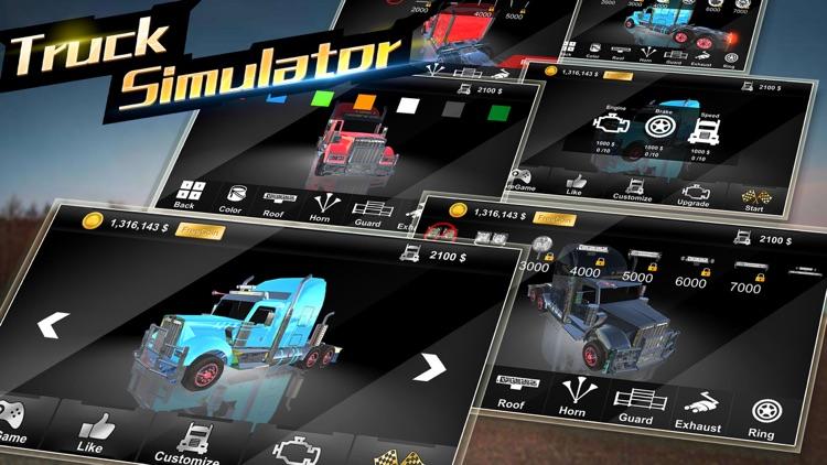 卡车模拟-汽车模拟驾驶游戏