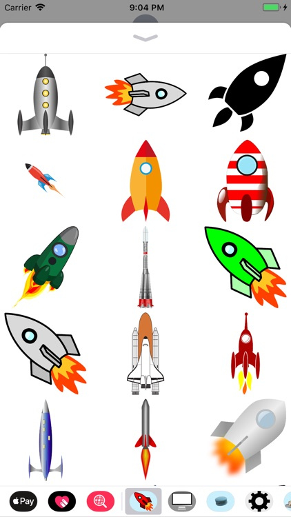 Rocket Sticker Pack