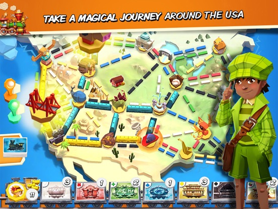 Ticket to Ride: First Journey для iPad