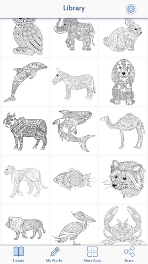 Animal Coloring Pages Games On The App Store