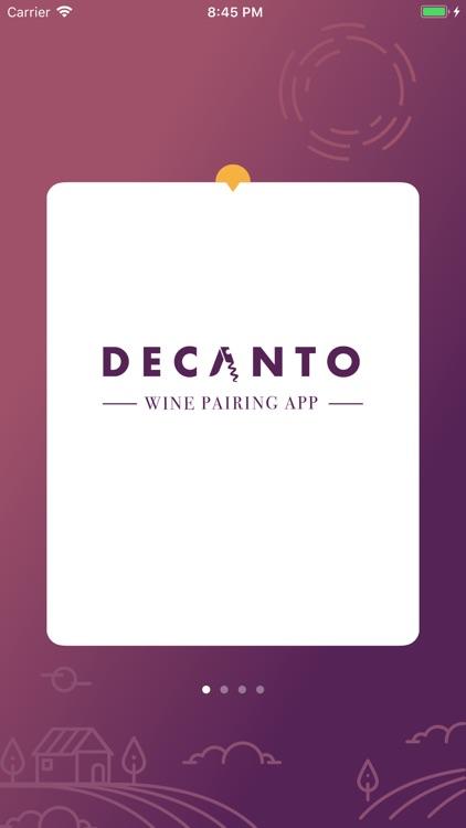 Decanto - Wine Pairing