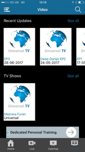 Universal Somali TV on the App Store
