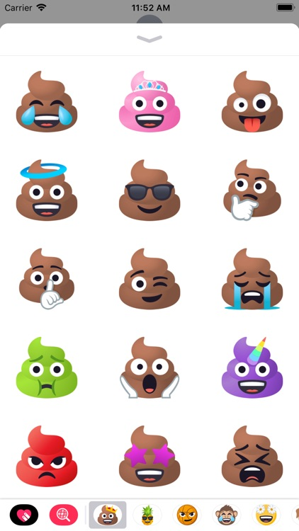 Pile of Poop Pack by EmojiOne