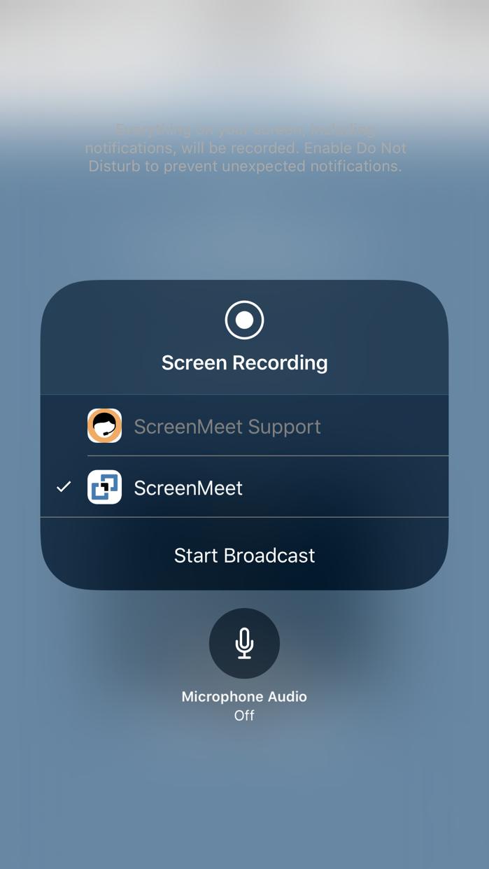 ScreenMeet Live Meetings Screenshot