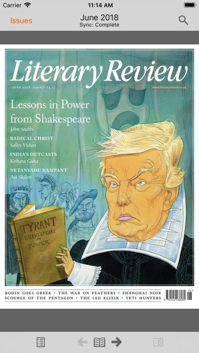 Literary Review review screenshots