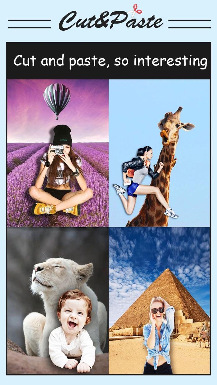 Cut & Paste Photo Blender - Superimpose Pics Screenshot