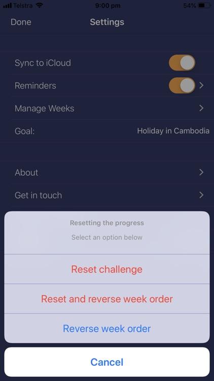 52 Weeks Saving Challenge screenshot-3