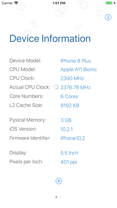 Screenshot for Hazel - Check CPU Info in Spain App Store
