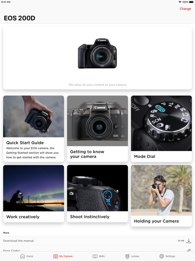 Canon Photo Companion on the App Store