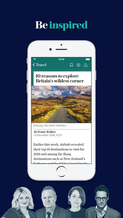 The Telegraph: UK News App screenshot-5