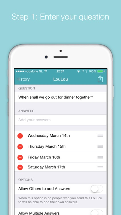 LouLou - Easy date planner