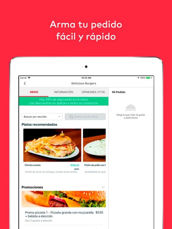 screenshot 2 for pedidosya food delivery