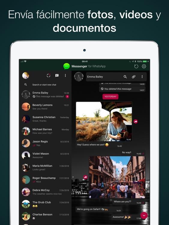 Messenger para WhatsApp screenshot-3