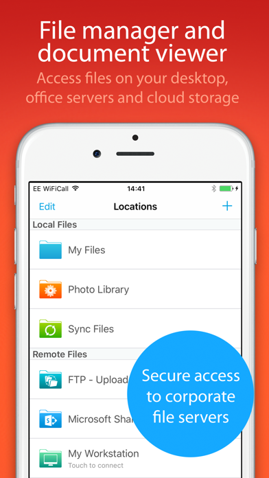 FileBrowser for Business Скриншоты3