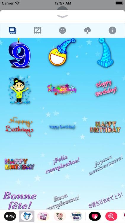 Happy Birthday! • Stickers screenshot-6