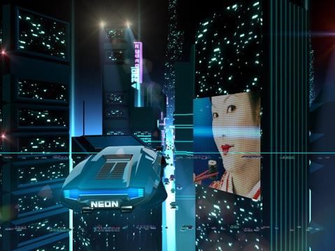 Скачать Neon Drive - '80s style arcade