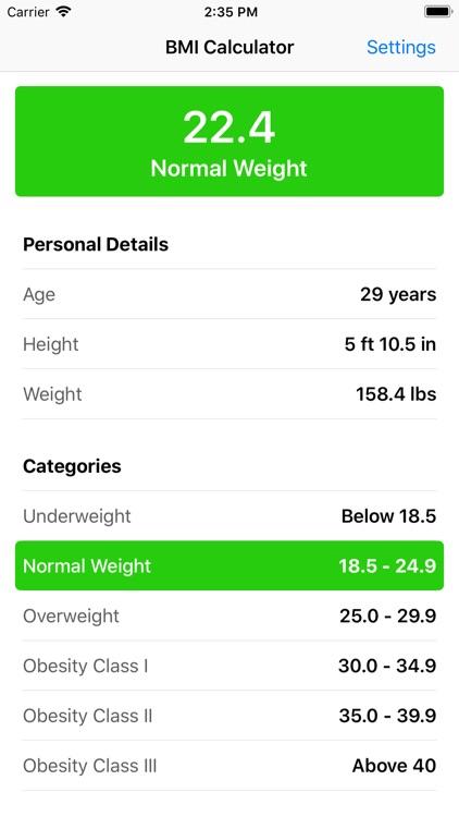 BMI Calculator - Easy Way