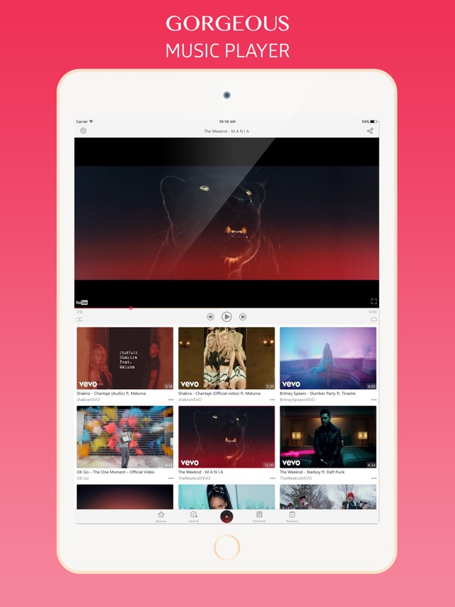 VidMate - Video Music Player on the App Store