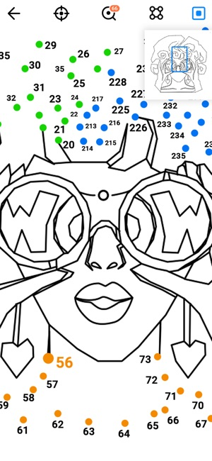 Dot To Coloring On The App Store