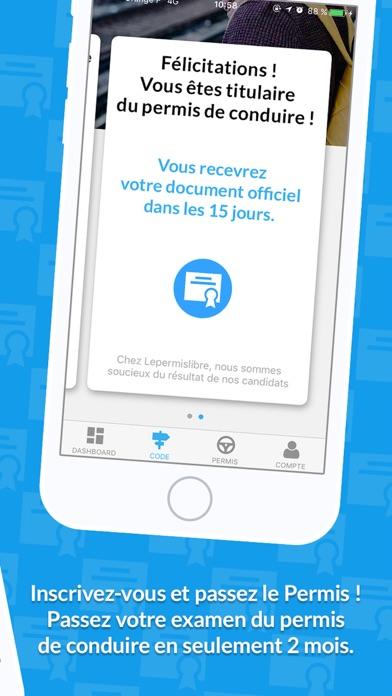 Screenshot #3 pour Lepermislibre