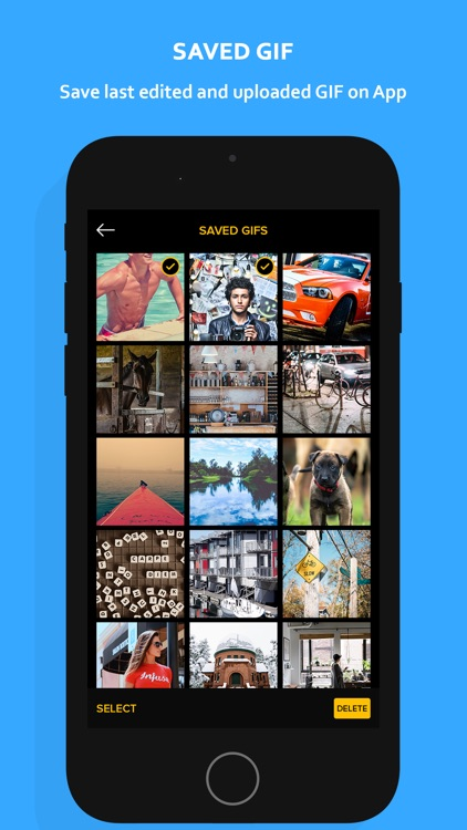 GIF MAKER- photos video To GIF screenshot-6
