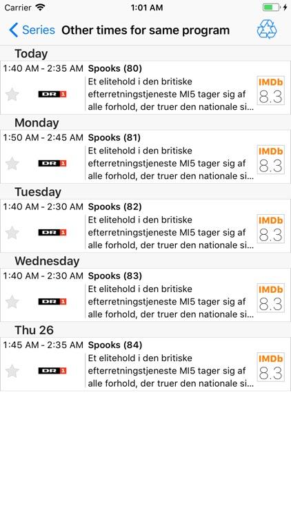 TV Guide - Easy TV screenshot-3