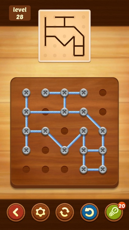 Line Puzzle: String Art screenshot-7