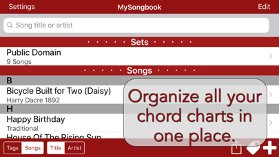 Mysongbook review screenshots