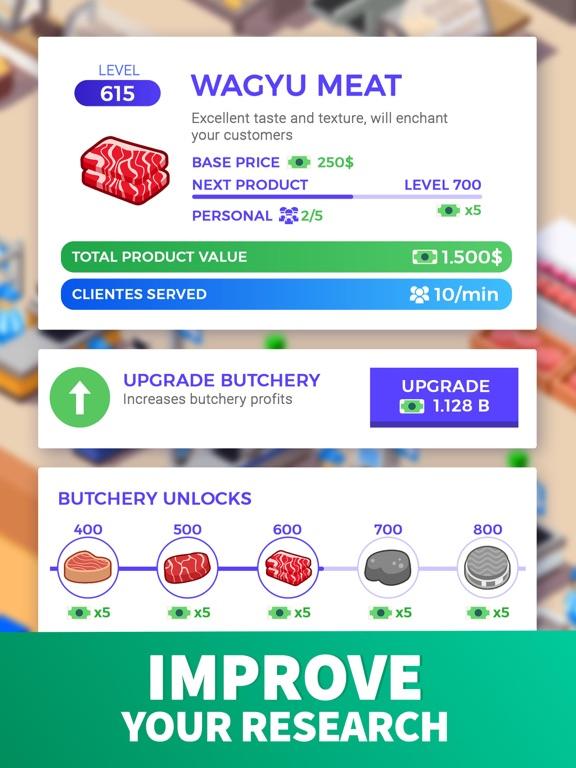 iPad Image of Idle Supermarket Tycoon - Shop