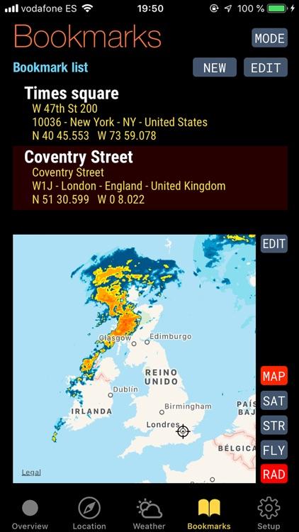 Quickgets Geo: geodata widgets screenshot-5