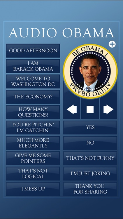 Audio Obama - soundboard