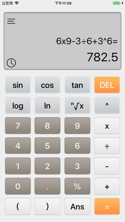 Scientific Calculator RedCrab