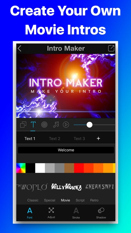 Intro Movie Vlog Trailer Maker screenshot-0