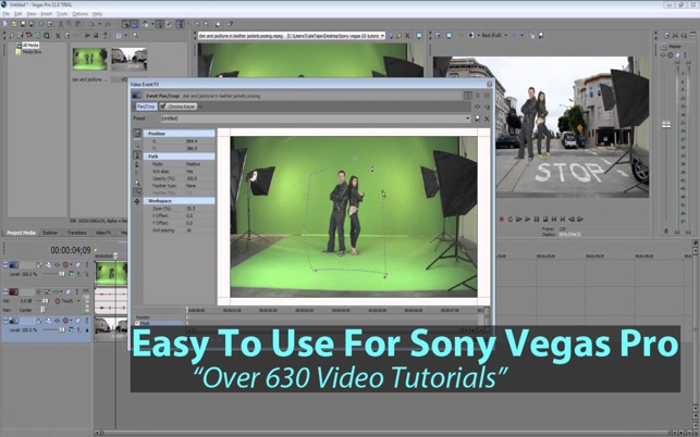 ‎Easy To Use For Sony Vegas Pro