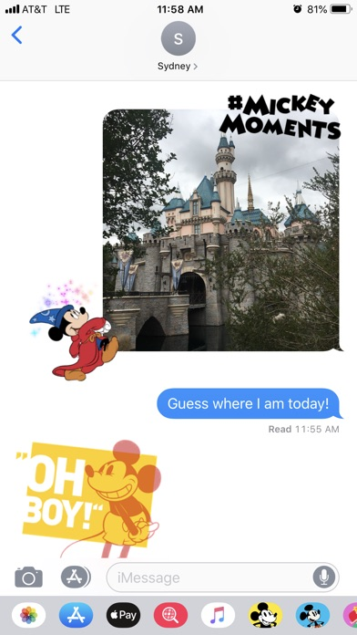 Disney Stickers: Mickey's 90th screenshot 2