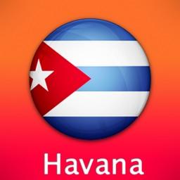Havana Travel Map (Cuba)