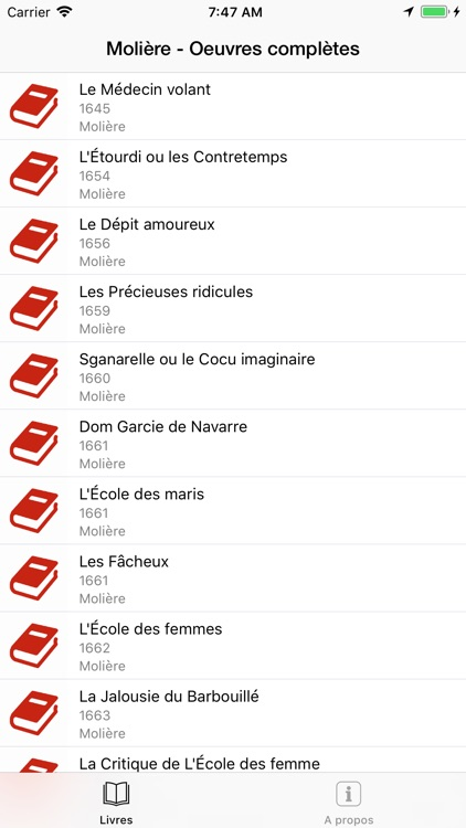 Molière screenshot-0