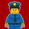 积木拼图游戏 - 积木世界城市警察游戏