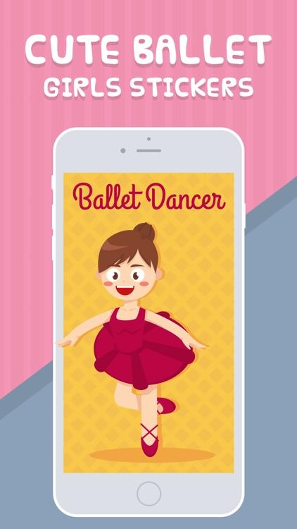 Cute Ballet Girls Stickers
