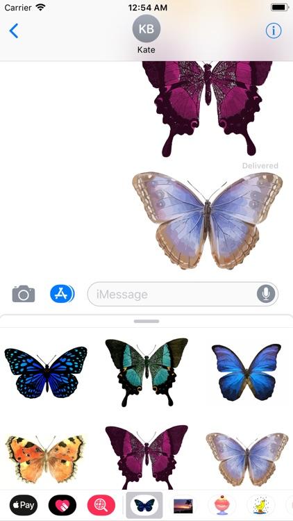 My Butterfly Sticker Pack screenshot-5