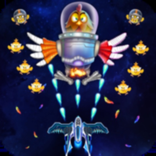 Chicken Shooter: Space shoting