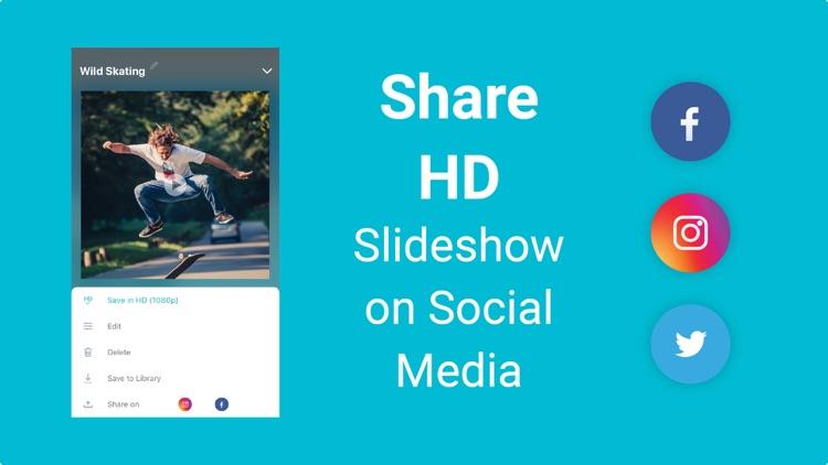 Slideshow Maker with Music App screenshot-3