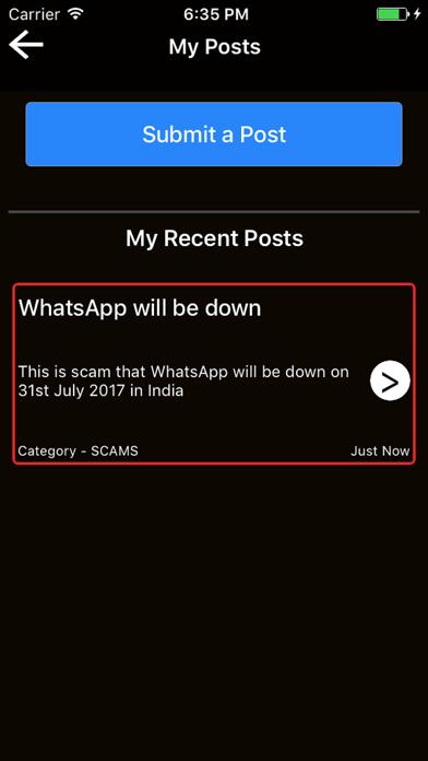 ScamPlus screenshot 4